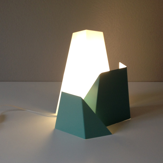 Tamim Daoudi : Collection Tube et luminaire Fragment