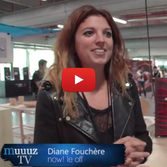 La designer Diane Fouchère lors de la Paris Design Week