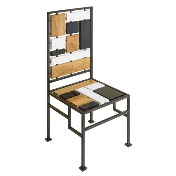 Élizabeth Garouste : Chaise Mondrian