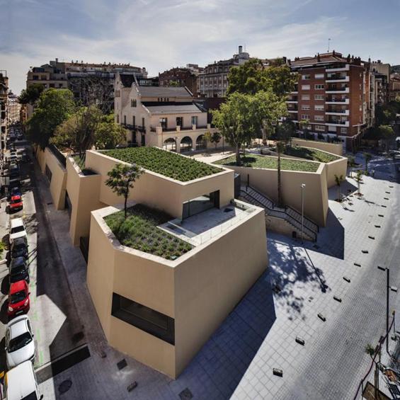 BCQ Arquitectura : Bibliothèque Joan Maragall
