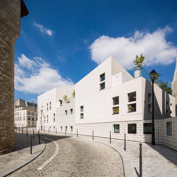rh+ Architecture : Maison de la petite enfance à Paris