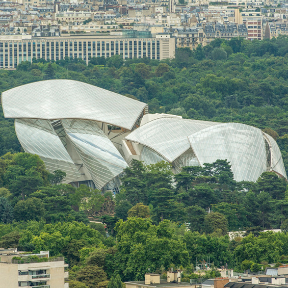 Frank Gehry : Fondation Louis Vuitton