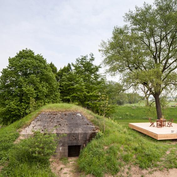 B-ILD : Un Bunker transformé en maison de vacances