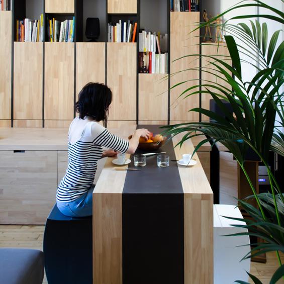 Mickaël Martins Afonso et l'Atelier Miel : Appartement M