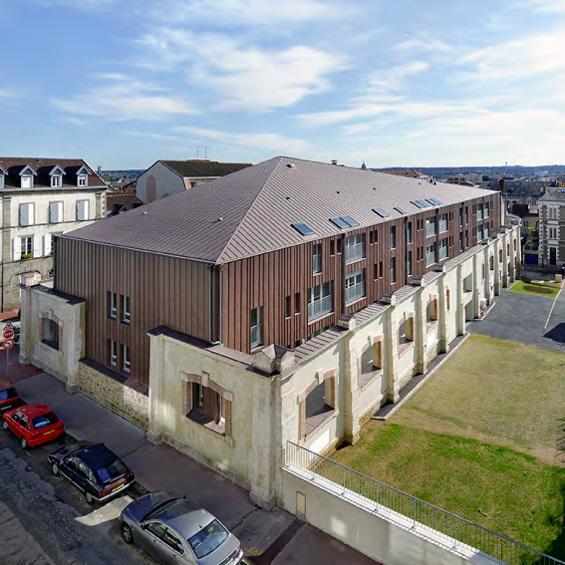 Ædificare Architectes : Le Manège Montrouge