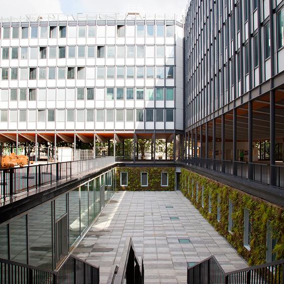 Reichen et Robert & Associés architectes – urbanistes : Le secteur Ouest de Jussieu, Paris