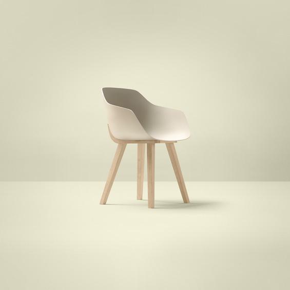 M&O : Alki : Kuskoa Bi, chaise en bioplastique