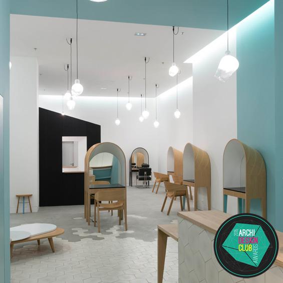 3814-03-architettura-design-Muuuz-magazine-blog-interno-decorazione-art-house architetto adcawards-commerce-interior-Keller-Guillon-melone-parrucchieri-Terrazze-Port Marsiglia salone-provence