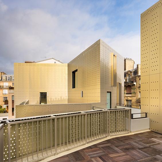 Gaetan Le Penhuel Architectes : Passage de Melun