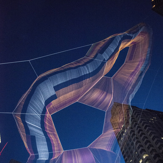 Janet Echelman : As if it were already here