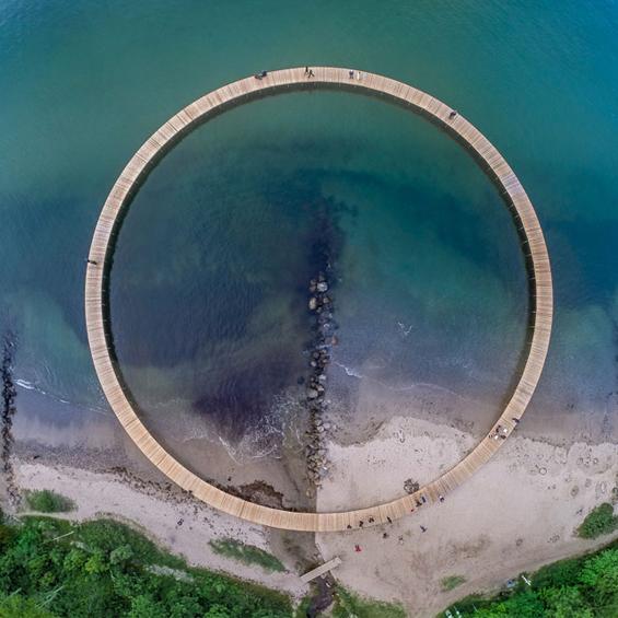 Gjøde & Povlsgaard Arkitekter : Infinite Bridge