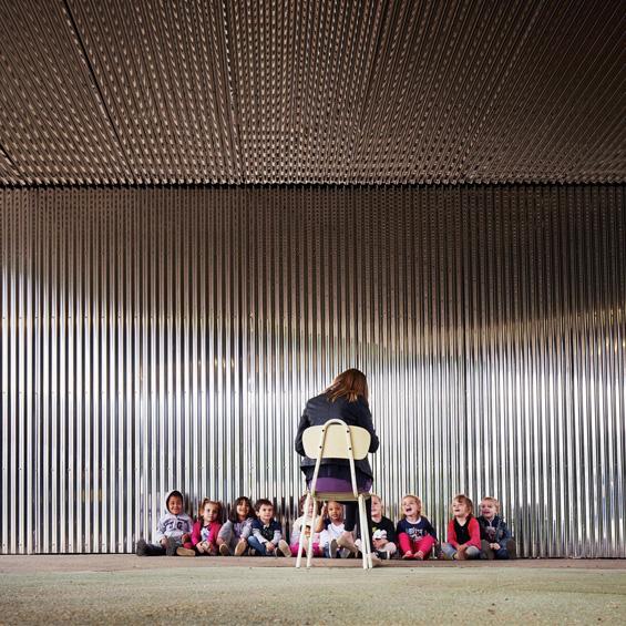 Graal architecture : Ecole Maternelle Les Alliés de Chavannes