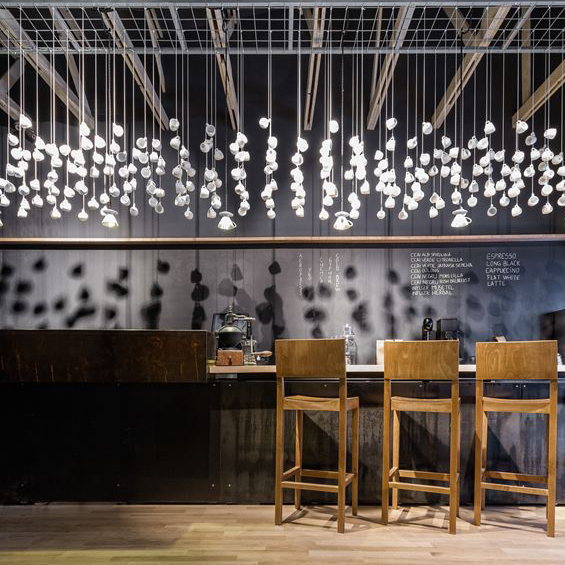Lama Architectura : Origo Coffee Shop