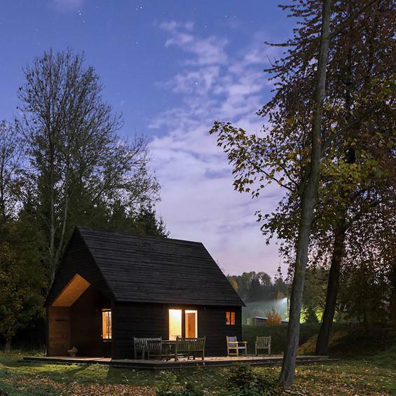 De Rosee Sa Architects : The Woodland Cabin