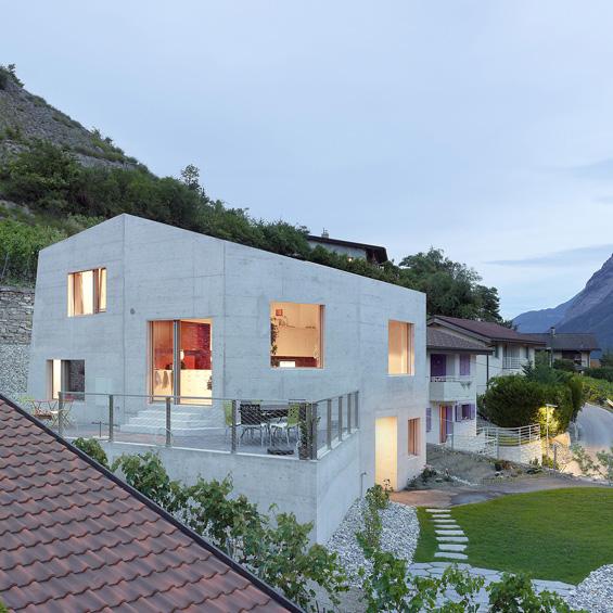 Savioz Fabrizzi Architectes : Maison Métrailler
