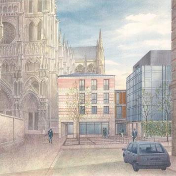 Cité de l'Architecture et du Patrimoine : Bernard Huet