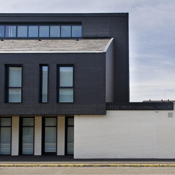 Lycée Reffye de Tarbes : Une façade en brique, moderne et intemporelle