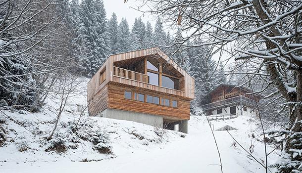 Studio Razavi Architecture : Chalet à Manigod