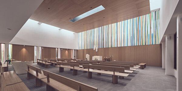 7356 design muuuz archidesignclub magazine architettura arredamento d'interni art house design enia church st joseph 01test