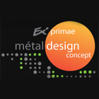 Metal-design-concept logo